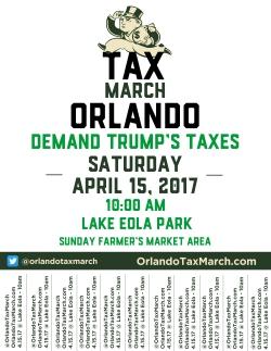 Tax March Orlando- Tabs
