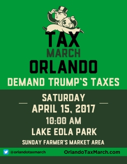 Tax March Orlando- Green