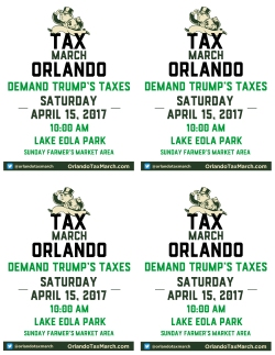 Tax March Orlando- 4x